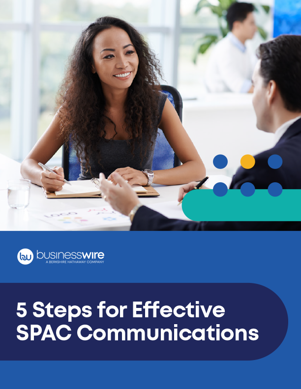5 Steps for Effective SPAC Communications_Business Wire_COVER