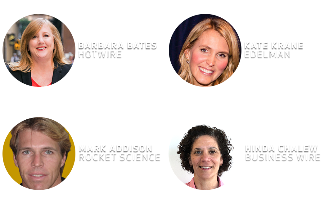 PR Experts Discuss PR Webinar Panelists